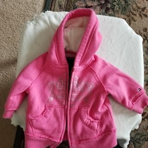 Other - Infant girls authentic Tommy Hilfiger hoodie